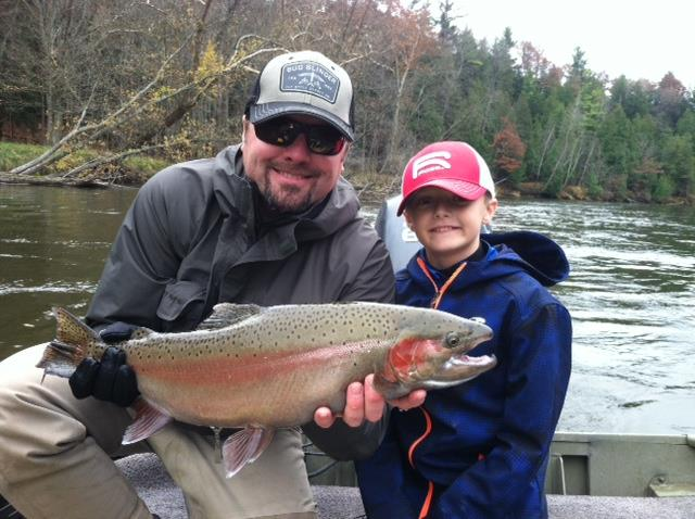 Could this giant Rainbow trout be a result of mutations caused by performance enhancing drugs?